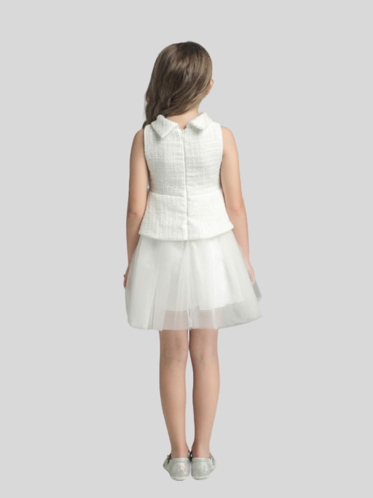 Stella Sleeveless Flower Girl Dress
