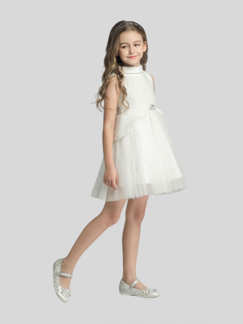 Stella Sleeveless Flower Girl Dress